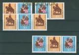 DDR Mi # 1521/23 Zusammendrucke WZd 210/13 postfrisch (26377)