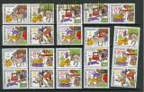 DDR Zusammendrucke Mi # 1717/22 postfrisch WZd 260 - SZd 121 Märchen (26397)