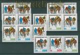 DDR Mi # 2216/18 Zusammendrucke WZd 343/48 postfrisch (26421)