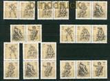DDR Mi # 2347/52 Zusammendrucke WZd 382 - SZd 159 postfrisch (26433)
