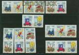 DDR Zusammendrucke Mi # 2566/71 postfrisch WZd 487 - SZd 228 Spielzeug (26462)