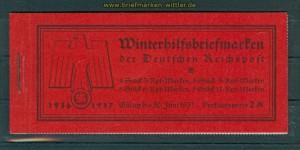 dt. Reich Markenheftchen Mi # 43 postfrisch (26526)