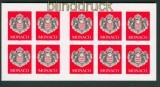 Monaco Mi # 2537 Folienblatt Staatswappen postfrisch (27013)