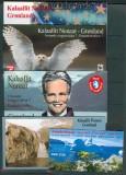Dänemark-Grönland 5 verschiedcene Markenheftchen postfrisch (27021)