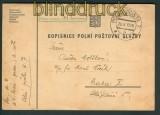 Tschechoslowakei Feldpost Polni Posta 1938 Zensur (27054)