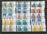 Bund Mi # 1339 bis 2009 postfrisch Sehenswürdigkeiten waagerechte Paare (26666)