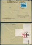 dt. Reich Mi # 767 Auslands-Zensur-Brief Hamburg 1941 (26909)