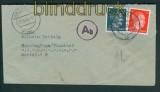 dt. Reich Auslands-Doppel-Zensurbrief Hamburg 1943 (26912)