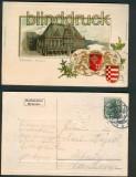 Bremen farb-Präge-AK Rathaus 1903 (d5060)