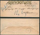 Meppen Postvorschußbrief 1.4.1865 nach Haselünne (27108)