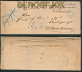 Meppen Postvorschußbrief 1.4.1865 nach Haselünne (27109)