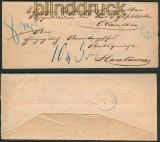 Meppen Postvorschußbrief 1.4.1865 nach Haselünne (27110)