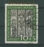 Bund Mi #  139 gestempelt 10 Pfg. Marienkirche (27123)