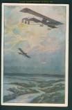 Flugzeuge farb-AK Doppeldruck Luftflottenverein 1915 (27137)