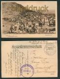 Istip sw-AK Gesamtansicht Feldpost 1917  (a0859)
