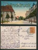 Elsterwerda farb-AK Elsterstraße 1922 (d5246)