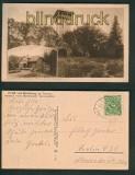 Bad Homburg sw-AK Aussichtsturm Herzberg 1923 (d5256)