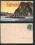 Die Loreley farb-AK Boppard 1911 (d5348)