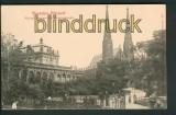 Dresden sw-AK Königlicher Zwinger mit Sophienkirche ungebraucht (d5355)