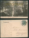 Bad Elster sw-AK Promenade an der Elster 1907 (d5360)