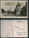 Langensalza sw-Foto-AK alte Stadtmauer mit Bergkirche 1943 (d5389)