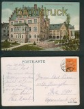 Jena farb-AK Volkshaus mit Lesehalle (Carl-Zeiss-Stiftung) 1922 (d5392)