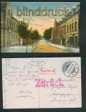 Mörchingen in Lothringen farb-AK Kapellenstrasse 1916 (d5397)