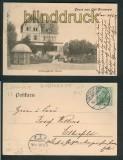 Gruss aus Ost-Dievenow sw-AK Erholungsheim Silvana 1905 (d5399)