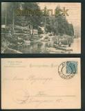 Hans Heiling sw-AK bei Karlsbad und Elbogen 1906 (a0882)