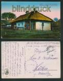 Bauerngehöfte aus. Russ.-Polen farb-AK Jablonna 1916 (a0888)