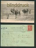 Biskra sw-AK une Caravane au col de Sfa 1907 (a0895)
