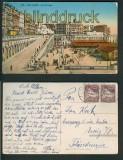 Alger farb-AK Algier Les Rampes 1932 (a0896)