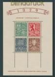 Estland Mi # Block 3 ** Gemeinschaftshilfe 1939  (27143)
