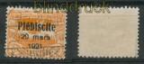 Oberschlesien Mi # 34 gestempelt gepr. Gruber BPP (27416)