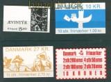 Dänemark und Faröer kleines Lot Markenheftchen postfrisch (27656)