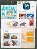 Portugal vier postfrische Blöcke und ein gestempelter Block (27666)