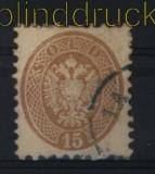 Österreich Lombardei und Venetien Mi # 18 gestempelt (28980)