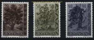 Liechtenstein Mi # 371/73 postfrisch (29063)