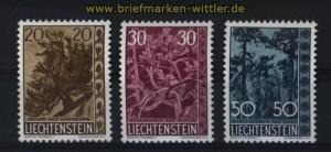 Liechtenstein Mi # 399/401 postfrisch (29065)