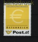 Österreich Ergänzungsmarke # 1 gezähnt ohne Wertangabe postfrisch (29072)