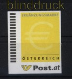 Österreich Ergänzungsmarke # 1 gezähnt ohne Wertangabe selbstklebend (29071)