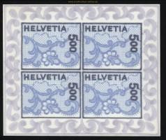 Schweiz Mi # 1726 Stickereimarke Kleinbogen postfrisch (29073)