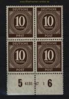 all. Besetzung Mi # 918 postfrischer 4er-Block mit HAN 4131.47 1 (29114)