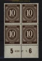 all. Besetzung Mi # 918 postfrischer 4er-Block mit HAN 4131.47 2 (29121)