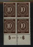 all. Besetzung Mi # 918 postfrischer 4er-Block mit HAN 4131.47 3 (29124)
