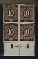 all. Besetzung Mi # 918 postfrischer 4er-Block mit HAN 4131.47 4 (29129)