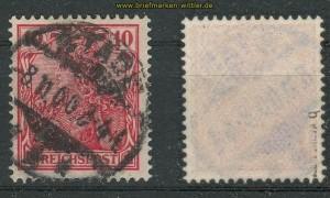 dt. Reich Mi #  56 b gestempelt geprüft Jäschke-L. BPP (27798)