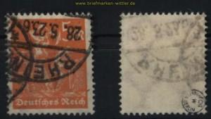 dt. Reich Mi # 238 gestempelt geprüft Infla Berlin (27837)