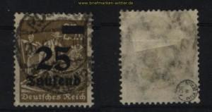 dt. Reich Mi # 283 gestempelt geprüft Infla Berlin (27846)