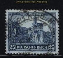 dt. Reich Mi # 477 gestempelt Nothilfe 1932 (27867)